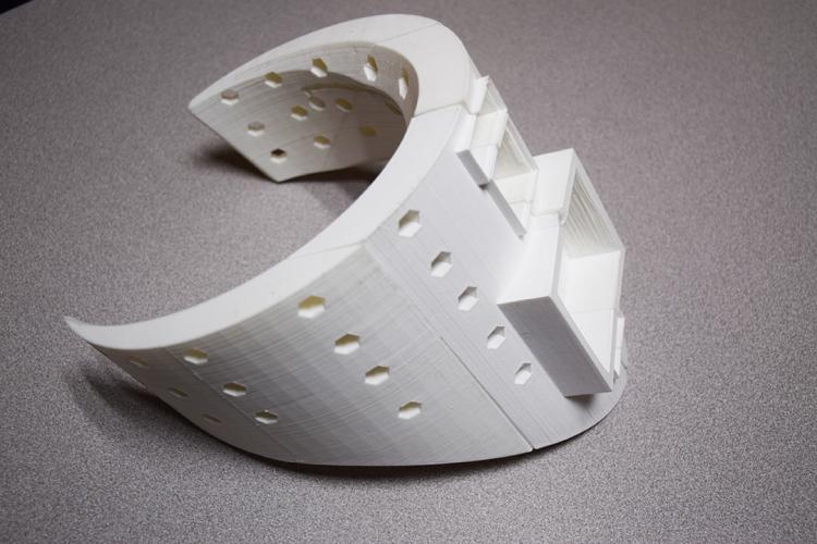 Crean collarín para tratar lesiones cervicales