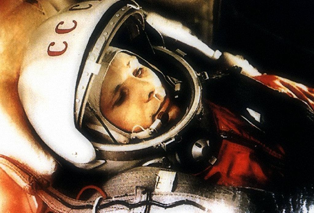 Yuri Gagarin, el primer hombre en el espacio