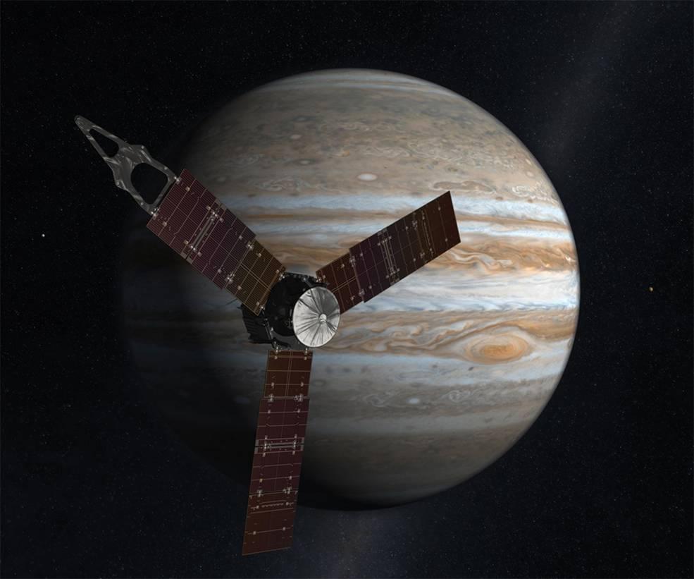 Tómate un respiro y mira imágenes de Júpiter