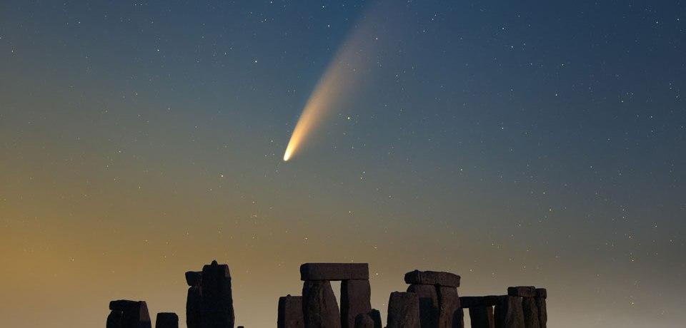 Tómate un respiro y mira el recorrido del cometa NEOWISE