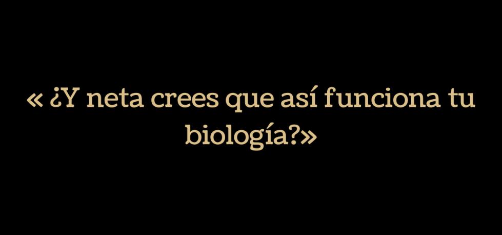 stand up comedy de Lumara la Bióloga